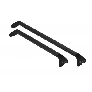 Portaequipaje de techo de acero para Opel Zafira Tourer (black rails)