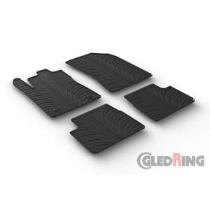 Alfombrillas de goma para Citroen C3/DS3 (5 puertas)