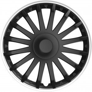 Tapacubos para ruedas Crystal SO black