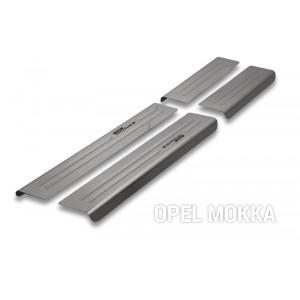 Protección de umbrales para Opel Mokka (X)