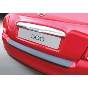 La protección del parachoques Fiat 500