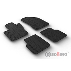 Alfombrillas de goma para JEEP COMPASS