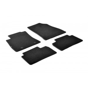Alfombrillas textiles para Nissan Juke
