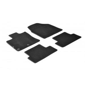 Alfombrillas textiles para Nissan Qashqai