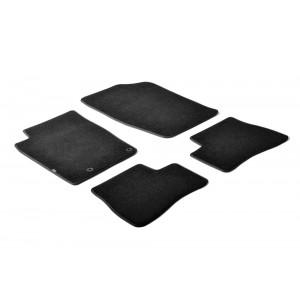 Alfombrillas textiles para Peugeot 206