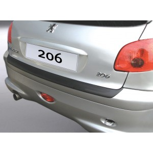 La protección del parachoques Peugeot 206/206 CC (No PLUS)