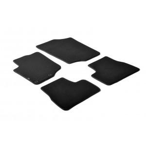 Alfombrillas textiles para Peugeot 207