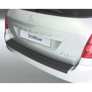 La protección del parachoques Peugeot 308SW
