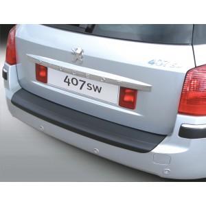 La protección del parachoques Peugeot 407SW