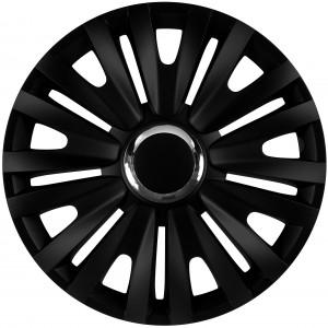 Tapacubos para ruedas Royal RC Black