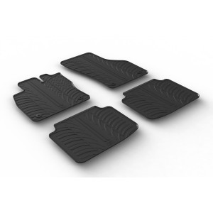 Alfombrillas de goma para Skoda Superb