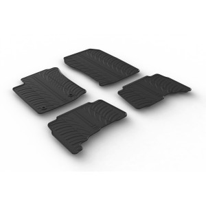 Alfombrillas de goma para Toyota Land Cruiser (automatic)