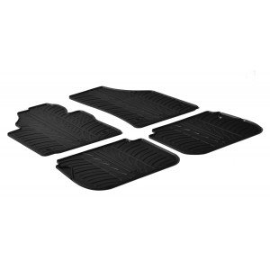 Alfombrillas de goma para Volkswagen Caddy / Caddy Cross