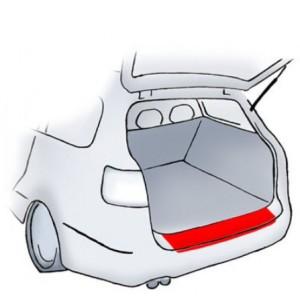 Lámina de protección para el tope Nissan Qashqai/Qash+2