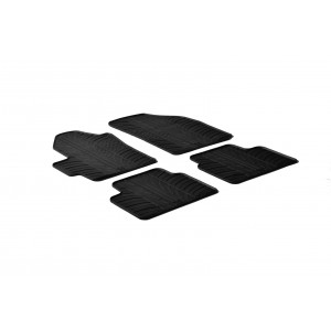 Alfombrillas de goma para Chevrolet Spark (5 puertas)