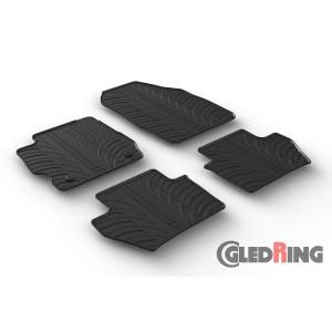 Alfombrillas de goma para Ford KA+ (manual, 5 puertas)